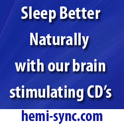 Sleep Better Naturally with BrainWave CDs