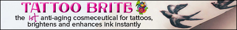 Tattoo Brite - the first cosmeceutical for tattoos