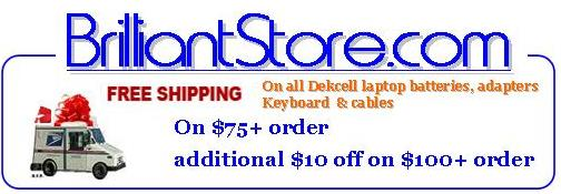 Free Shipping on $75+ order and additional $10 discount on $100+ order