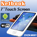 "7"" Touchscreen Netbook EKEN M001"