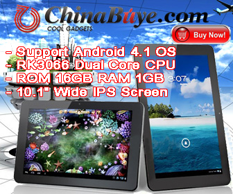The product is a CUBE U30GT 16GB RK3066 Dual Core DDR3 1GB 10.1inch IPS Capacity Touch Screen Android 4.0 Dual Camera 1080P MID Tablet PC - White, it has 10.1Inch touch  screen with 1028×800 Pixels, it built-in 16GB memory and support TF card up to 32GB f
