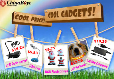 Cool Gadgets - Cool Price - From $0.98 - Free Shipping World Wide