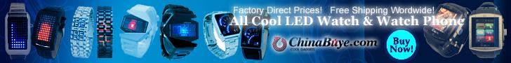 ChinaBuye Coolest LED Watch