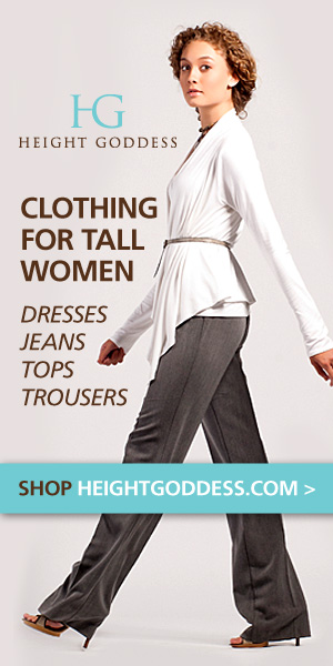 HEIGHT GODDESS Clothing for Tall Women