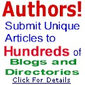 Authors: Submit Unique Articles to Hundreds of Blogs and Directories