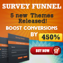 New and Improved Survey Funnel WordPress Plugin at 20% discount