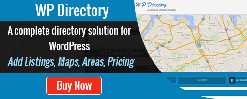 WP Directory - A complete directory solution for WordPress