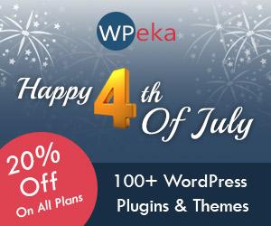 WPeka Club 4th July Offer