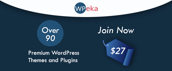 WPEka Club WordPress Join Now