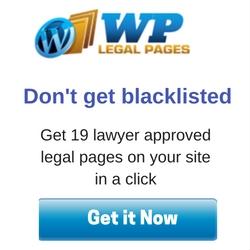 WordPress legal pages plugin
