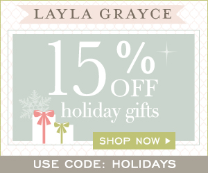 Save 15% at Layla Grayce #affiliate