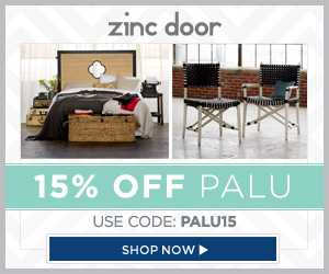 now through October 15th, Zinc Door is offering 15% off Palu with promo code