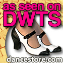 dance shoes feature on dancing with the stars from dancestore.com
