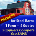 Multiple quotes for steel barns. One form four quotes.