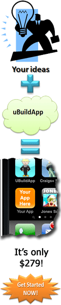 uBuildApp - build you own app for $279