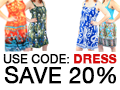 Use Code: Dress SAVE 20%