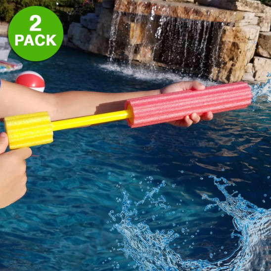 2-Pack: Foam Water Blaster Cannon Was: $29.99 Now: $4.99 and Free Shipping.
