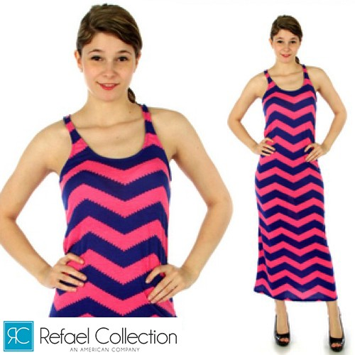 A-Fashion Racerback Maxi Dress Was: $39.99 Now: $8.99 and Free Shipping.