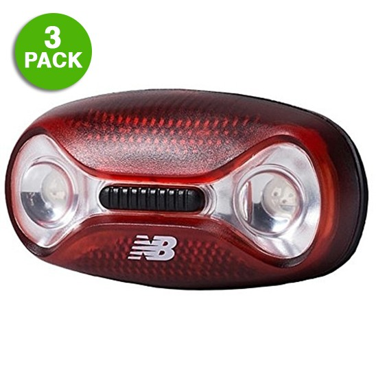 3-Pack: New Balance Magneto 3-Function Safety Light Was: $39.99 Now: $12.99 and Free Shipping.