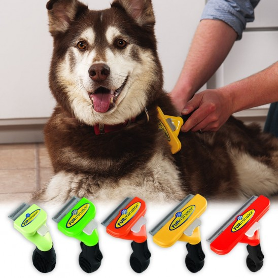 FURminator deShedding Tool - For Dogs of All Sizes and Hair Lengths Was: $59.99 Now: $14.99 and Free Shipping.