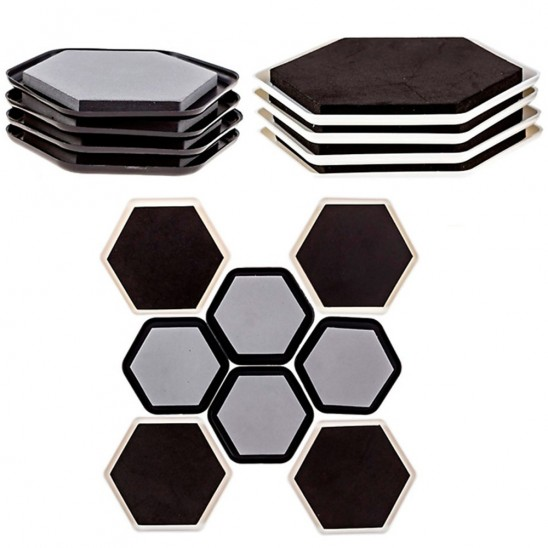 8 Pack: Furniture Slider Pads Was: $19.99 Now: $4.95 and Free Shipping.