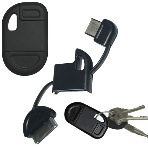 Hype Data Sync USB 2.0 Cable and Keychain for $6.99 and Free Shipping.