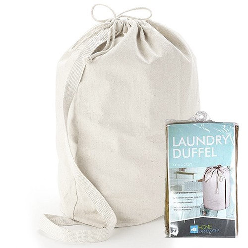 Solid Non Woven Laundry Duffel Bag Was: $29.99 Now: $5.99 and Free Shipping.