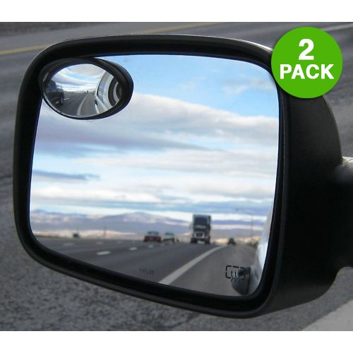 2 Pack: Oval Precision Blind Spot Mirrors Was: $29.99 Now: $5.99 Plus Free Shipping.