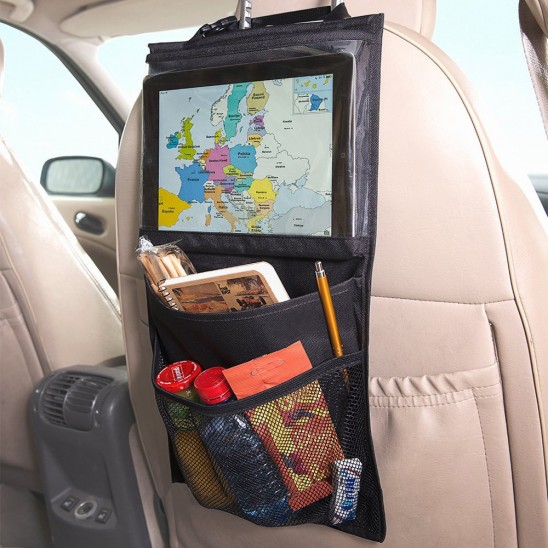 Hanging Multi-Pocket Auto Storage Organizer Was: $29.99 Now: $6.99 and Free Shipping.