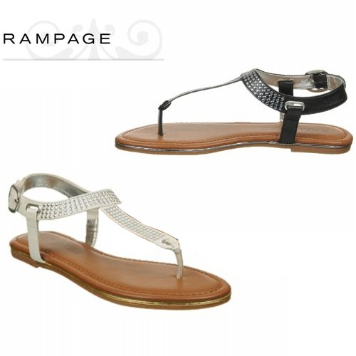 Rampage Women's Peg Sandals Was: $89.99 Now: $14.99 and Free Shipping.