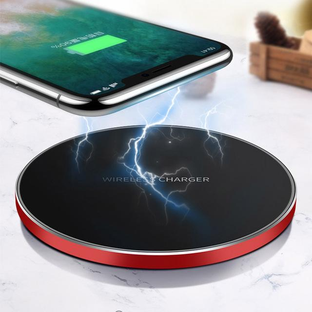 Aiqaa 10W Qi Wireless Charger For iPhone 8/X Fast Wireless Charging for Samsung S8/S8 /S7 Edge Nexus5 Lumia 820 USB Charger Pad Was: $81.99 Now: $28.99 and Free Shipping.