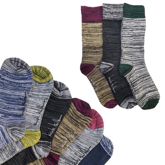 6 Pairs Nicole Miller Crew Socks Was: $39.99 Now: $7.99 and Free Shipping.