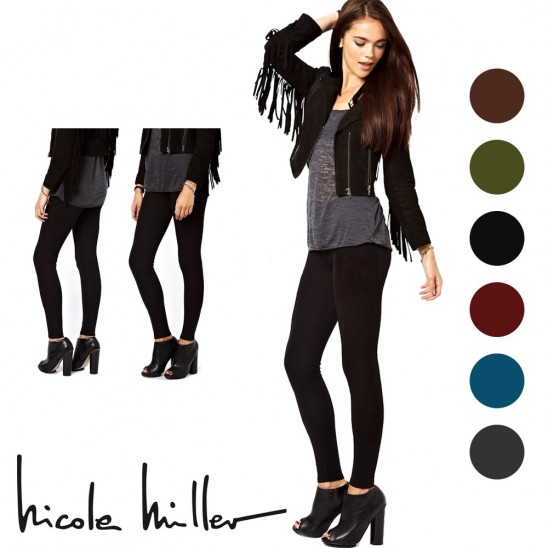 Nicole Miller Fleece Lined Footless Tights Was: $20 Now: $3.99.