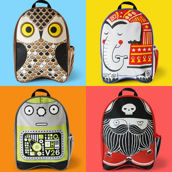 Wry Baby Kid's Canvas Backpacks in 4 Styles Was: $39.99 Now: $6.99 and Free Shipping.