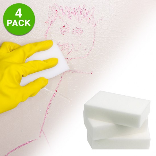4-Pack Cosmic Clean' Multi Surface Mega Erasers Was: $14.99 Now: $2.99 and Free Shipping.