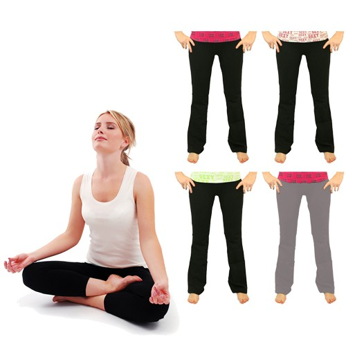 Prestige Fold Over Yoga Pants Was: $39.99 Now: $8.99 and Free Shipping.