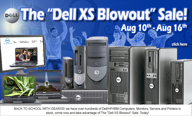 GearXS Dell Blowout