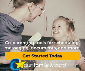 OurFamilyWizard has co-parenting tools for scheduling, messaging, document sharing, and more.