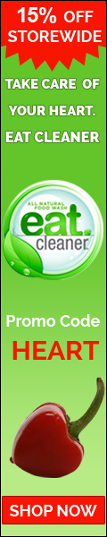 15% off storewide EatCleaner