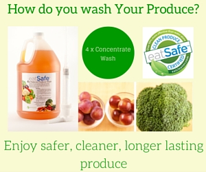 How do you Wash Your Produce?