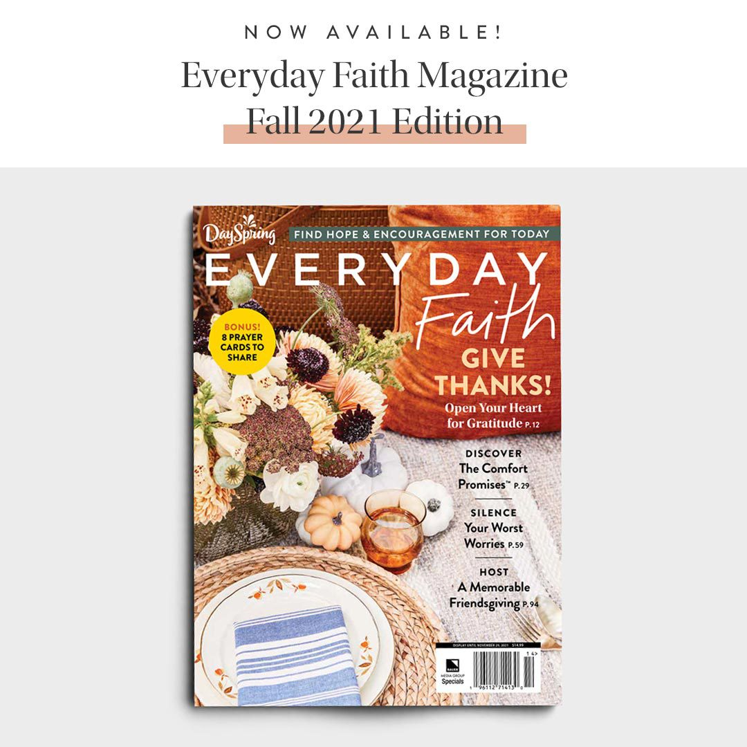 DaySpring New Fall Magazine