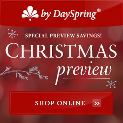 Christmas preview savings on DaySpring!