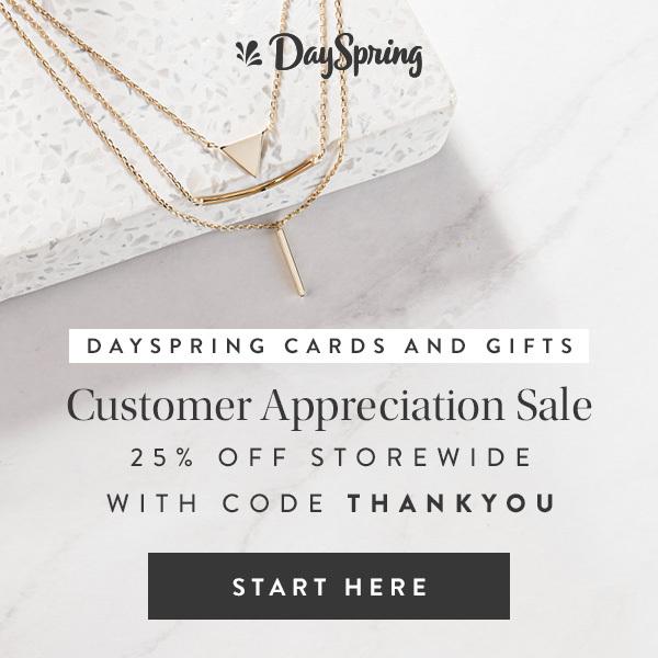 DaySpring Customer Appreciation Sale