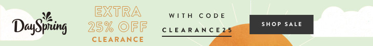Save Even More On Dayspring Clearance with Their End of Summer Sale!!