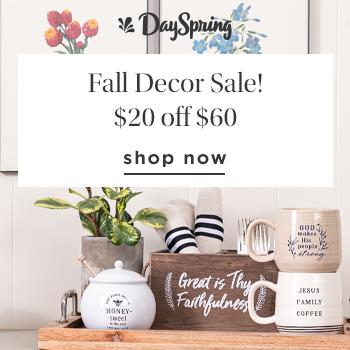 dayspring fall decor sale