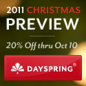 2011 Christmas Preview from DaySpring