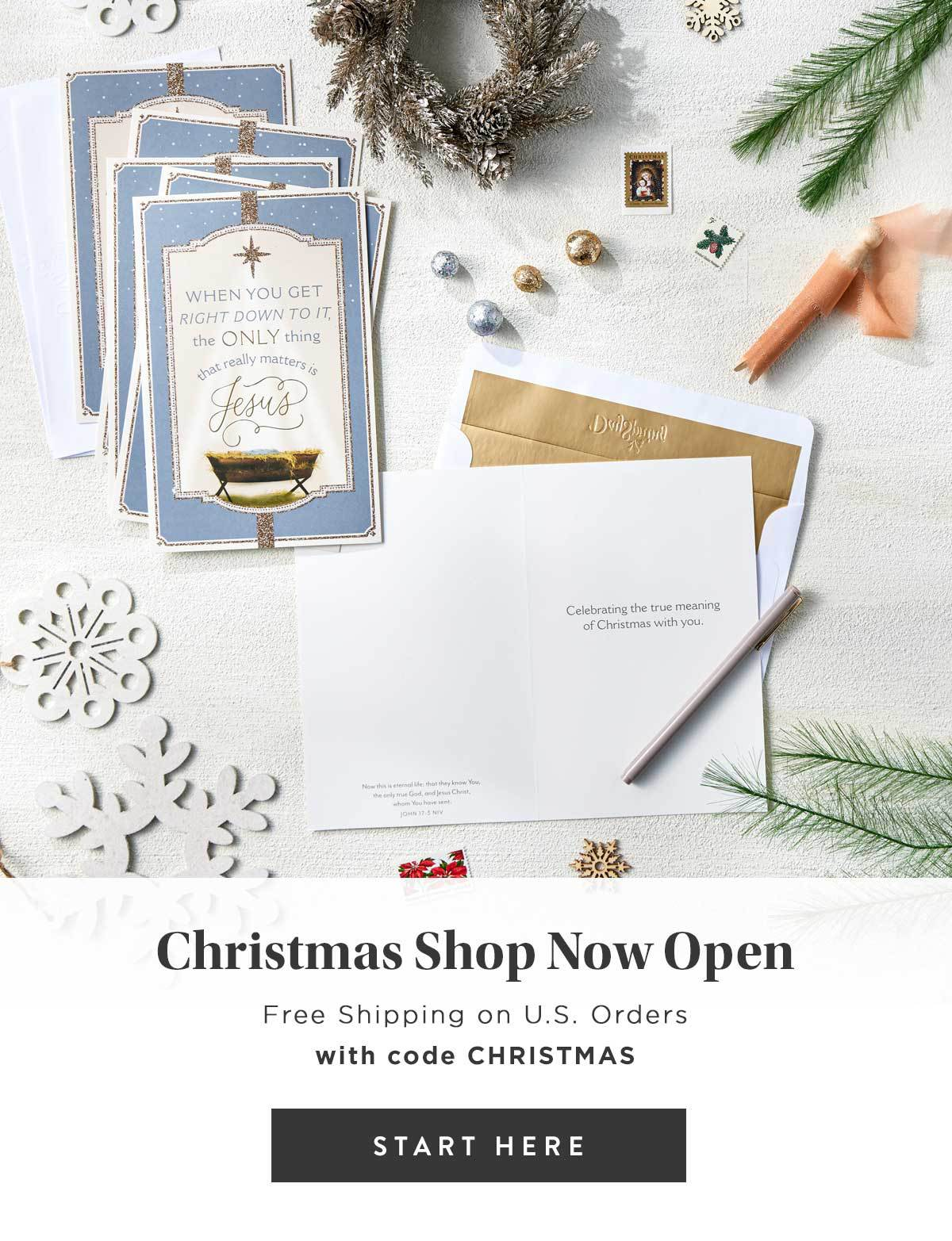 DaySpring Christmas Shop Launch