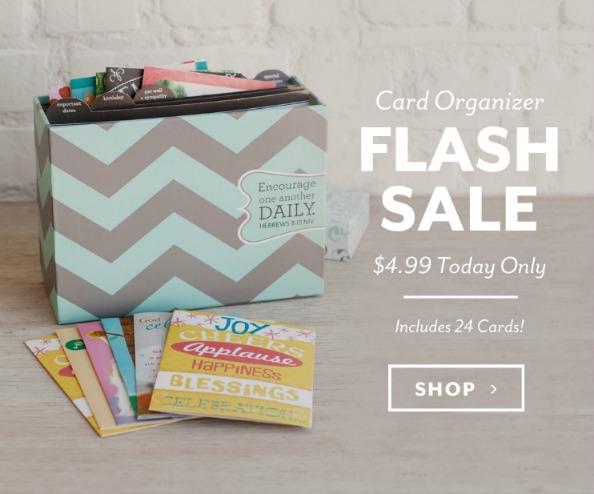 Chevron Card Organizer - $4.99...