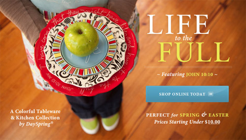 Life to the Full Kitchen Collection by DaySpring