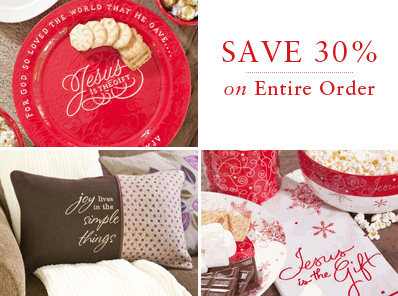 Save 30% with the biggest coupon of the year! Expires Nov. 30.